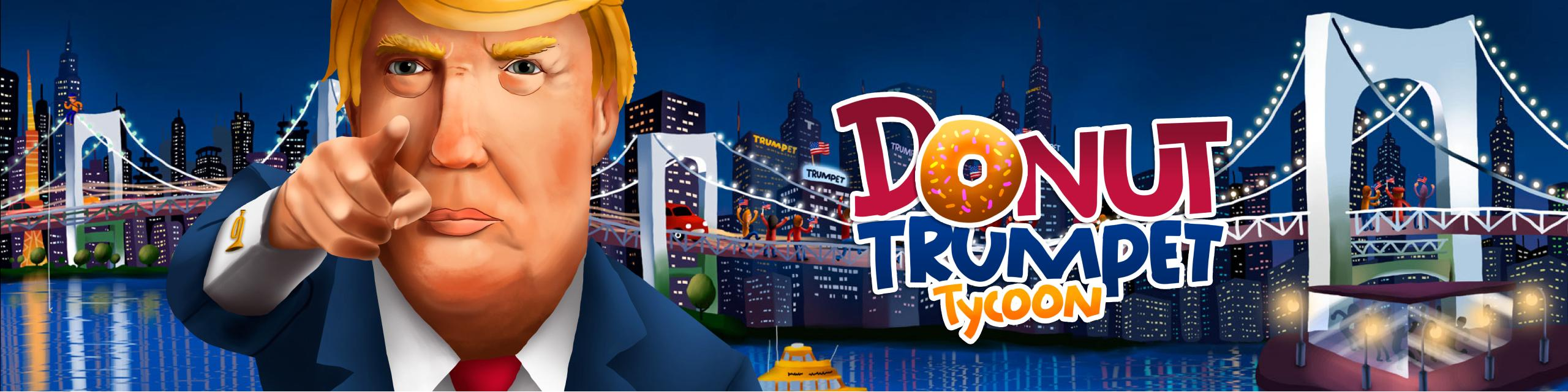 Donut Trumpet Tycoon graphic
